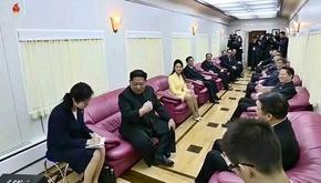 انتشار تصاویر و جزئیاتی از «قطار لذت» رهبر کره شمالی