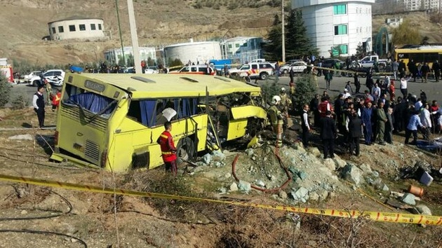 صدور حکم پرونده واژگونی اتوبوس دانشگاه آزاد