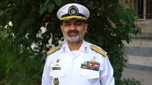 امیر ایرانی فرمانده نیروی دریایی ارتش شد