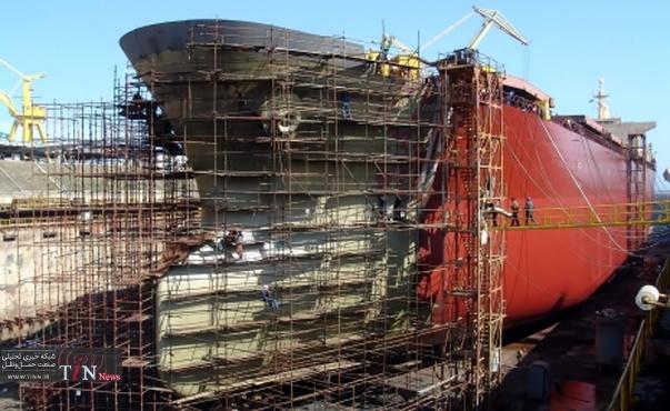 توقف ساخت کشتی های بزرگ در میتسوبیشی ژاپن