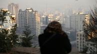 تهران، مدفون شده زیر دود
