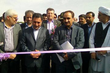 افتتاح قطعه اول باند دوم بزرگراه تایباد- تربت جام