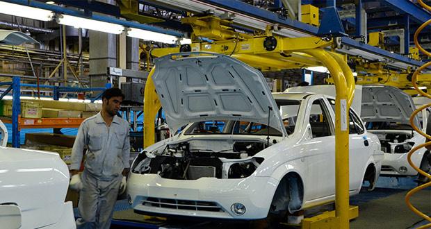 36 درصد افت تولید خودرو در بهار سال جاری