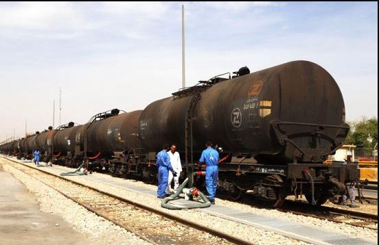 تغییر بوژی و تعویض محور به استاندارد ایران، در ایستگاه سرخس