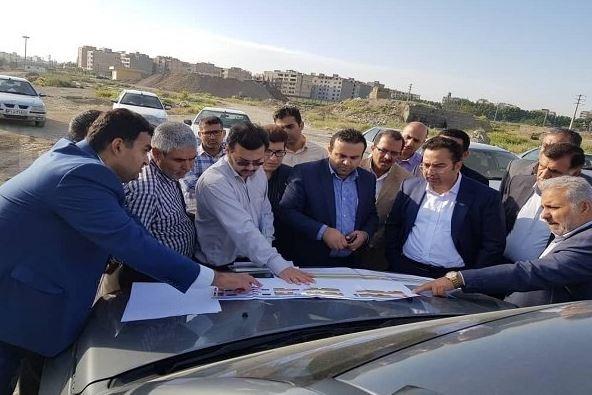 بازدید معاون وزیر راه و شهرسازی از پروژه مترو شهر جدید هشتگرد