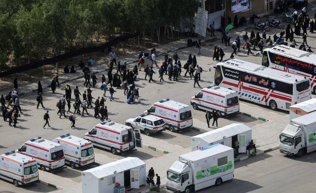 شهردار مهران: ۴۰ درصد پارکینگ بزرگ اربعین مهران تخلیه شد