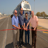 Kishon Port rail link inaugurated