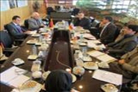 حضور سفیر ارمنستان در شرکت ساخت و توسعه
