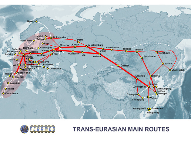 Co-operation to promote Eurasian rail freight
