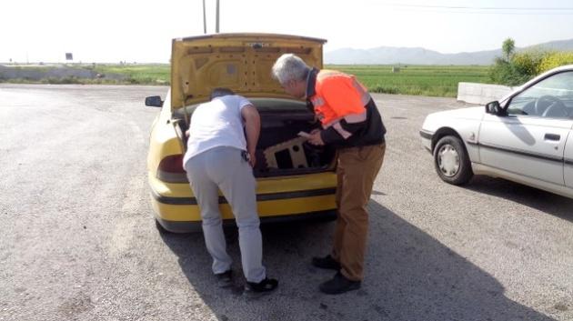 رصد 8 گشت کنترل جاده ای ترددهای تابستانه در جاده های خراسان شمالی