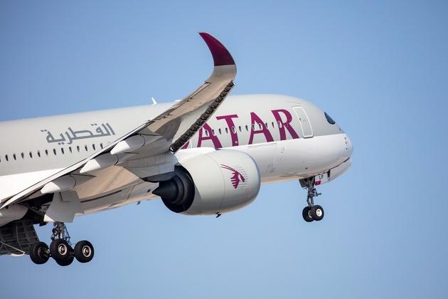 Qatar Airways flies over Saudi Arabia 1st time after blockade