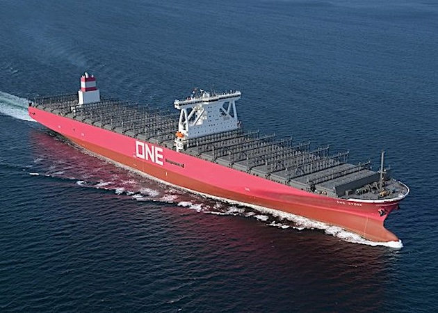 تحویل اولین ساخته جدید صورتی-بنفش یک کشتیسازی ژاپنی