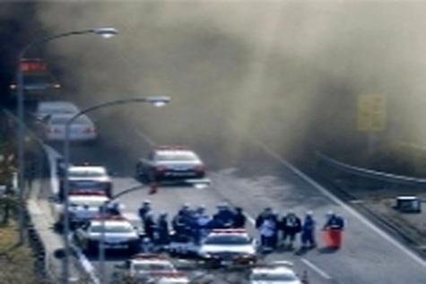 ۹ کشته و ۴۳ مجروح در تصادف جادهای آلمان