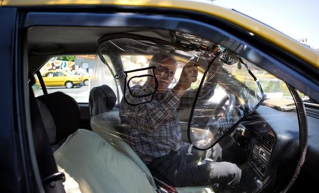 """چند راهکار بهداشتی برای پیشگیری از ابتلای """"راننده تاکسیها"""" به کرونا"""