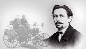 ساخت اولین اتومبیل توسط فردریش بنز