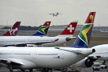 اعتصاب موجودیت هواپیمایی آفریقای جنوبی را تهدید میکند