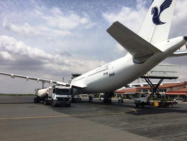 بازگشت دوران تامین پول سوخت هواپیما با پول چمدانی