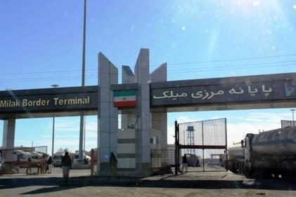 فیلم  صف کامیونهای حامل سیمان به افغانستان