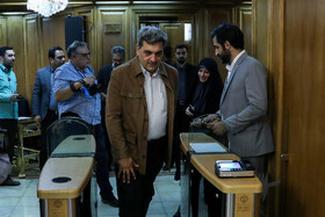 جلسه علنی شورای شهر با حضور شهردار تهران