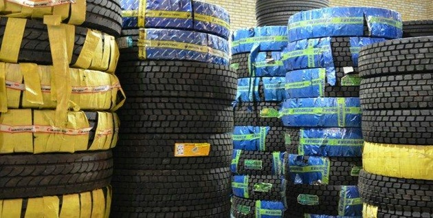 توزیع بیش از ۱۰۶هزار حلقه لاستیک بین رانندگان ناوگان برونشهری لرستان