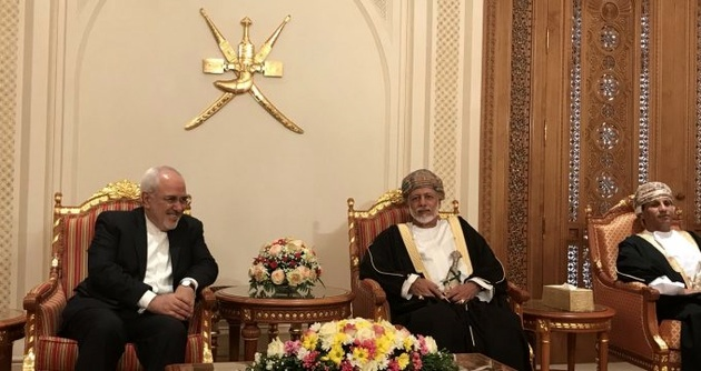 Iran, Oman FMs hold talks in Muscat
