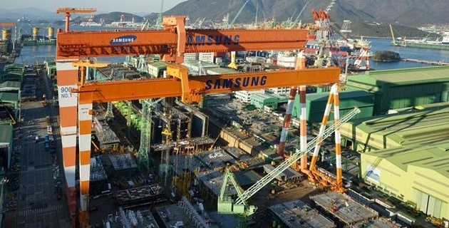Two major South Korean shipbuilders suffer loss in Q2