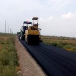 پایان پروژه آسفالت راه روستایی گنبدکاووس
