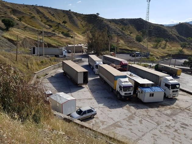 رانندگان کامیون برای سفر به عراق و ترکیه چه قدر ارز همراه ببرند؟