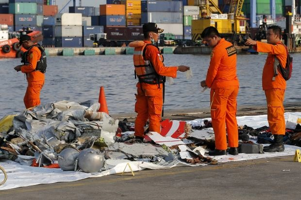 Investigators obtain ATC audio recordings of crashed Lion 737