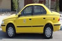 اعتصاب رانندگان تاکسی در مقابل شهرداری بیدستان قزوین