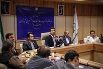 (تصاویر) نشست خبری مدیر عامل سازمان تاکسیرانی تهران