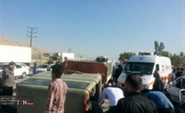 دو کشته و پنج مصدوم در برخورد پراید با خاور در محور «گچساران - بهبهان»