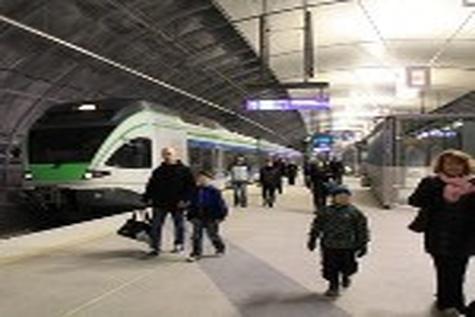 Helsinki airport rail link opens