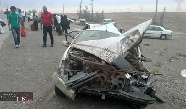 تصادف در جاده دیلم - بهبهان یک کشته و دو مصدوم برجای گذاشت