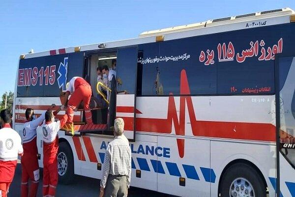 جزئیات حادثه تصادف اتوبوس در دهشیر یزد