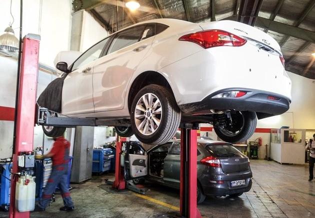 خدمات پساز فروش خودروهای وارداتی تا 10سال