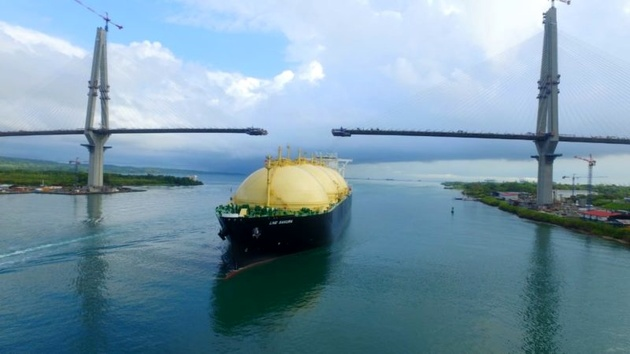 Panama Canal Opens Way for More LNG Transits With U.S. Exports Rising