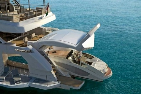 قایق تفریحی ۲۸ میلیون دلاری که از برق نیرو میگیرد