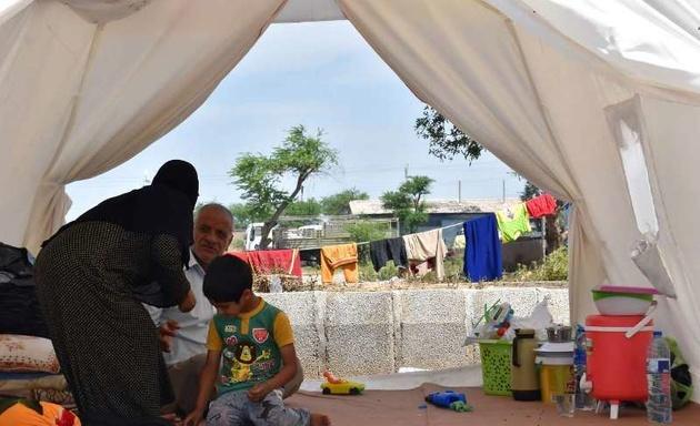 1017 سیلزده در اردوگاههای هلال احمر خوزستان سکنی دارند