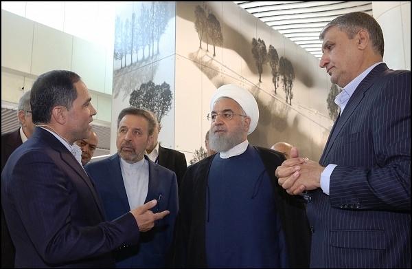 افتتاح «ترمینال سلام» فرودگاه امام  با حضور رئیسجمهور