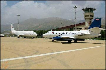 برقراری پرواز کیش-همدان-کیش و افزایش پروازهای فرودگاه همدان