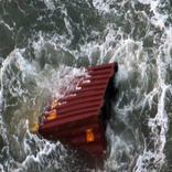 Container vessel capsizes in Vietnam
