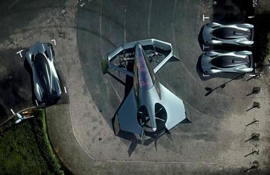 طرح اولیه تاکسی هوایی«آستونمارتین» آماده شد