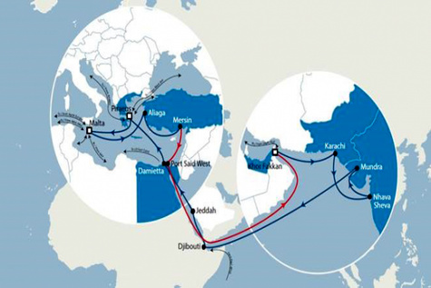 New service links East Mediterranean with Asia and Africa