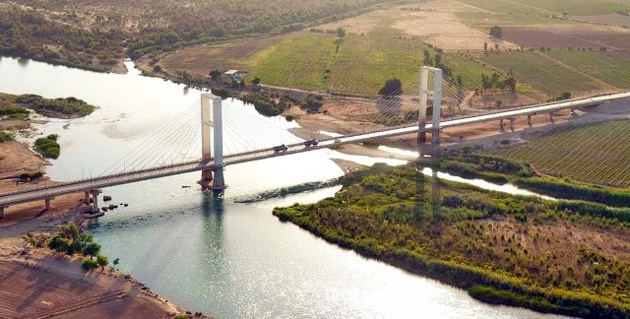 مسدود شدن پل کابلی شوشتر