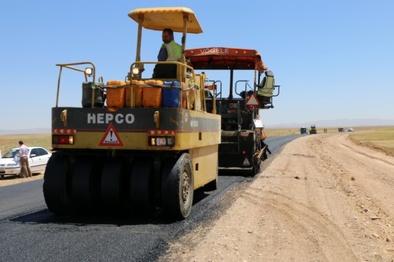 آغاز بهسازی محور روستایی کاظمآباد - خمین