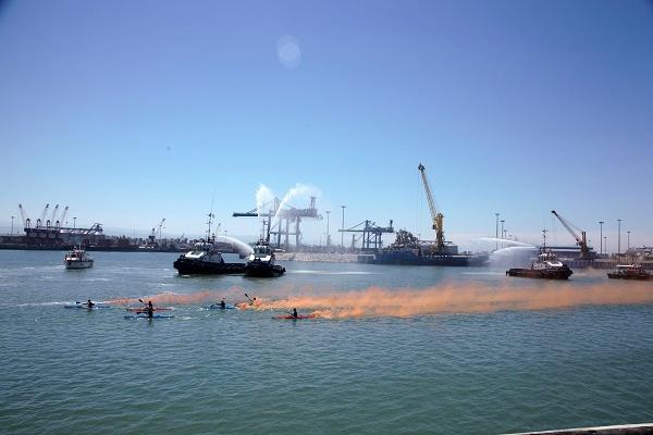 برگزاری هجدهمین سالروز ورود اولین کشتی به بندر امیرآباد