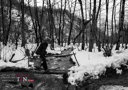 بحران برف در گیلان پس از شش روز