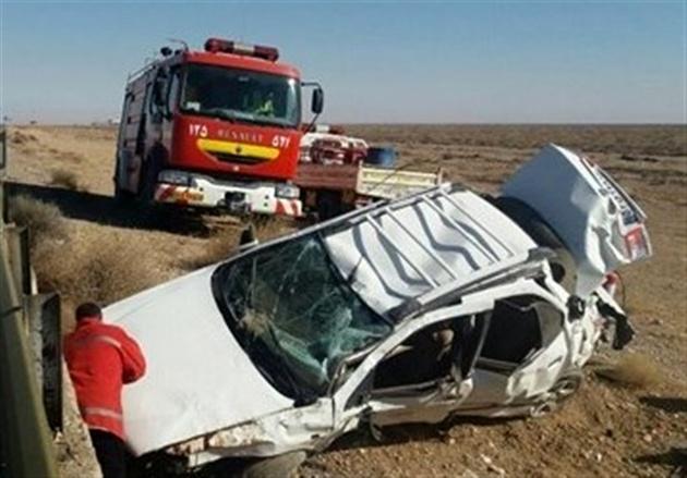 ۵ نفردر واژگونی سمند در محور دشتی کشته شدند