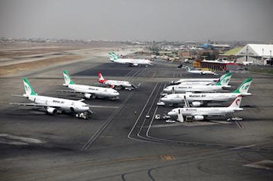 تحریمها در خدماتدهی به پروازهای عبوری غیرمؤثر بود